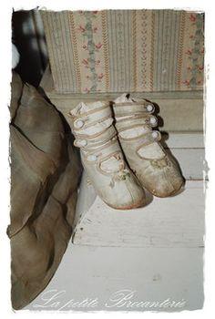 Antike Puppen/Teddy-Stiefelchen