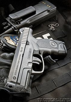 STEYR ARMS C9-A1 PISTOL. Good gun love the sights, shoots nice and clean.