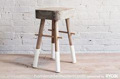 How to: Make a DIY Concrete Stool
