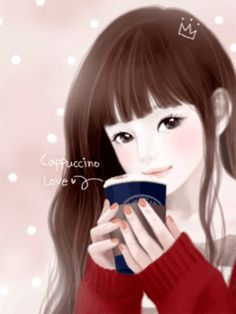 cute korean anime girl wallpaper - Google Search