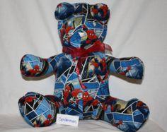 Spiderman Share-A-Bear - Edit Listing - Etsy Scary Kids, Very Scary, Cute Bears, Spiderman, Etsy, Spider Man, Amazing Spiderman