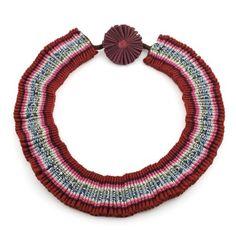 Bold Pleated Collar by Marina Callis