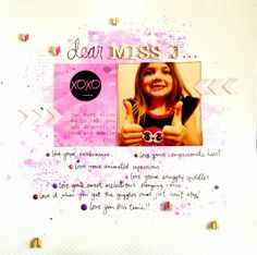D-lish Scraps: Dear Miss J - with Anna Allan...