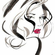 . Fashion illustration