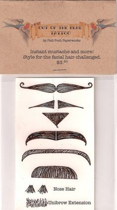 ... Pin Fingerstache Mustache Tattoo Collection Moustaches Pink Cat Shop