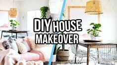 DIY PINTEREST INSPIRED HOUSE MAKEOVER! | Aspyn Ovard - YouTube