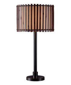 Another great find on #zulily! Dark Bronze Outdoor Table Lamp #zulilyfinds
