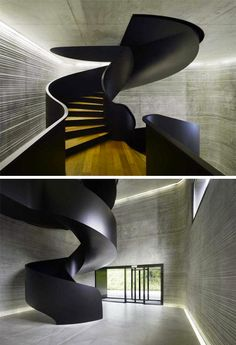 Office Interior Design Dramatic Staircase Architecture Design Architecture Moderne Stairs Architecture Amazing