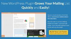 Top 10 Mailing List Building WordPress Plugins