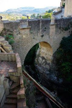 Puente Arabe, Ronda, España
