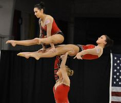 Team USA - Women's Gymnastics Us Gymnastics Team, Acrobatic Gymnastics, Gymnastics Leotards, Gymnastics Problems, Dancer Problems, London Olympic Games, Female Gymnast, Muscular Women, Celebrity Travel
