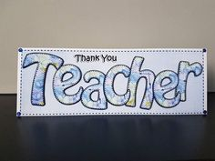 Check out this item in my Etsy shop https://www.etsy.com/uk/listing/597887040/thank-you-teacher-card-matching-insert