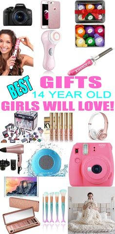 Best Toys for 14 Year Old GirlsThanks begracebeloveboutique for this post.Top Gifts For 14 Year Old Girls! Best suggestions for gifts presents for a girls fourteenth birthday, Christmas or just because. Find the best gifts, makeup, beauty, # first