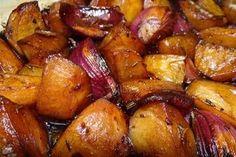Gebackene Balsamico-Kartoffeln