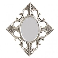Create a design statement for your room with a Baroque style Mirror. The bold scroll work and metallic