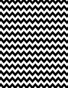Black and white chevron background - 15 colors available - free instant download.