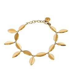 Edblad Leaf bracelet gold