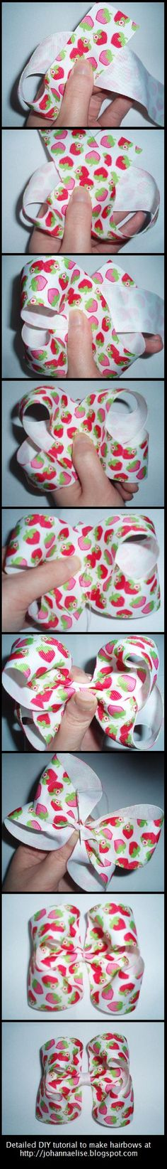 How to Make Boutique Hair Bows
