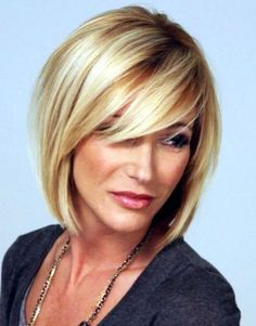 best hairstyles for women over 50 with short hair by Mary-Clare Rooney