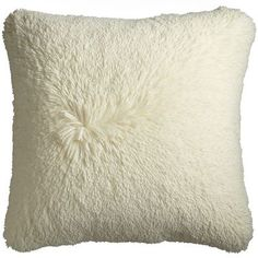 Ever wondered what it would feel like to hug a cloud? Well, wonder no more, because it would feel just like hugging this pillow. Soft, luxurious and happy. What more could you want from a pillow? Or a hug, for that matter?