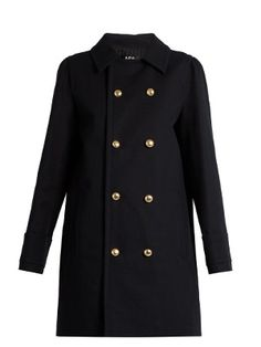 Double-breasted cotton pea coat | A.P.C. | MATCHESFASHION.COM US