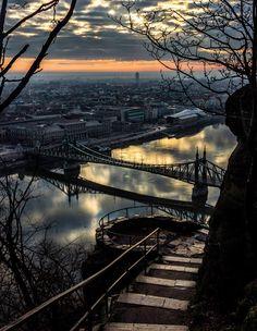 Budapest - Citadella lépcső - Dénes Kiss