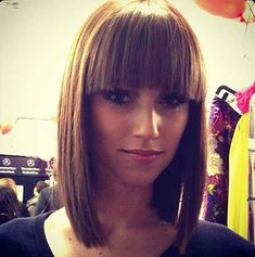 Short Straight Hair with Fringe
