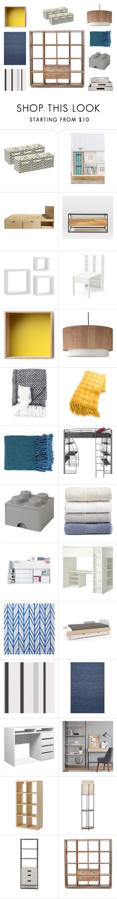 Bez tytułu #2 by ali-poz on Polyvore featuring interior, interiors, interior design, dom, home decor, interior decorating, West Elm, South Shore, Lights Up! and Robert Abbey
