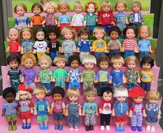 Vintage Barbie, Vintage Dolls, Disney Princess Toys, Barbie Kids, Barbie Kelly, Barbie Sisters, Ken Doll, Barbie Collection, Child Doll