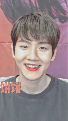 Baekhyun Wallpaper, Bambi, Jinyoung, Chanyeol, Cute, Bra Tops, Kawaii