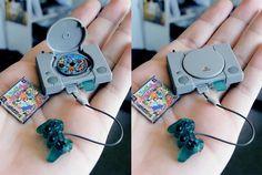 Mini Playstation 1. Awesomest miniature EVER. ( via IGN FB )