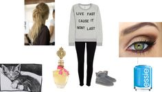 """lazy day."" by amber-lee-ii ❤ liked on Polyvore"