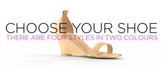 There are 4 STYLES in black & nude. And the first 3 straps you choose for each pair of shoes you buy are FREE.