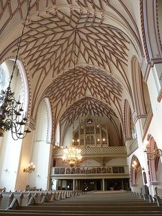 St. John's church ceiling Riga, Latvia  Photo by Billnpat