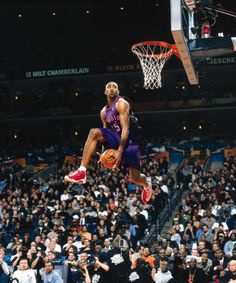 Vince Through The Legs, '00 Dunk Contest.