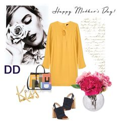 Happy Mother's Day!!! by divadebbi on Polyvore featuring polyvore, fashion, style, Derek Lam, Gianvito Rossi, Fendi, Lanvin, Dot & Bo and clothing