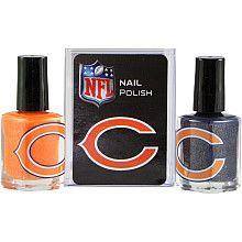 Chicago Bears Nail Polish!