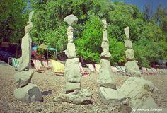 Stone balance art from Hungary by tamas kanya