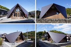 Traditional and modern meet in this origami-inspired house in the Mie Prefecture of Japan. Covered by a massive overhanging roof that envelopes the entire home, the structure is beautifully streamlined but brings to mind the ancient art of origami. Designed by TSC Architects, the home blends nic ...