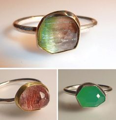 gold and silver used to make their rings is recycled and sourced from an eco-conscious supplier
