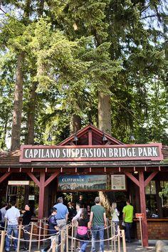 Capilano Suspension Bridge Vancouver.