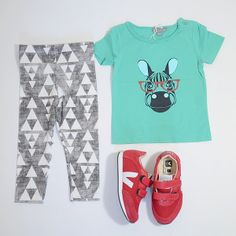 Mini look of the day with #emileetida #diapersandmilk and #veja available at @frenchblossom