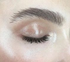 Vaseline on the eyelids works a treat to brighten up the eye area.