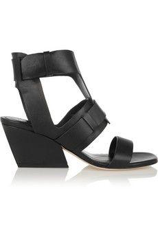 Sigerson Morrison Yetta leather sandals | NET-A-PORTER
