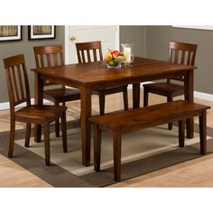 Shop for Liberty Furniture 6 Piece Trestle Table Set, and other Dining Room Sets at Michael Anthony and Suffern Furniture Gallery in Union, NJ and Suffern, NY. Dining Table In Kitchen, Dining Room Sets, Dining Room Furniture, Dining Bench, Dining Chairs, Acme Furniture, Chair Bench, Side Chairs, Jofran Furniture