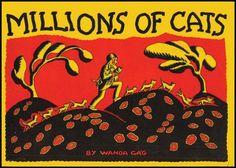 Millions of Cats: by Wanda Gag (1929)