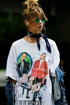 Example of printed tshirt+accessories