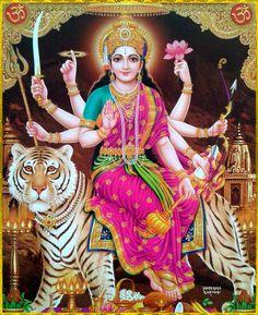DURGA DEVI ॐ Durga Ji Ki Photo, Maa Durga Image, Durga Kali, Shiva Shakti, Durga Goddess, Durga Images, Lakshmi Images, Krishna Images, Durga Puja Wallpaper