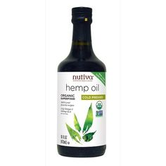 Nutiva Organic Hemp Oil Bottles Pack of 2 * Don't get left behind, see this great product : Cooking Ingredients Marijuana Recipes, Cannabis Plant, Cooking Ingredients, Delicious Dinner Recipes, Cooking Oil, Organic Oil, Hemp Oil, Superfood, Health