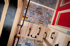 This bedroom is awesome for boys.  Has a secret compartment, a climbing wall, swinging rope - my kids would LOVE this!!